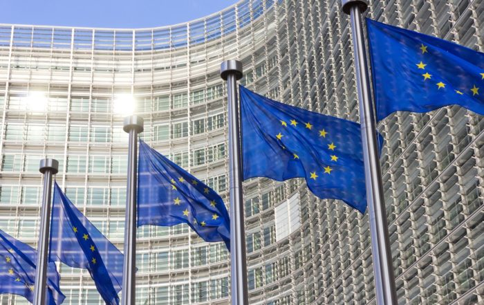 European Commission flags Berlaymont VECTO test